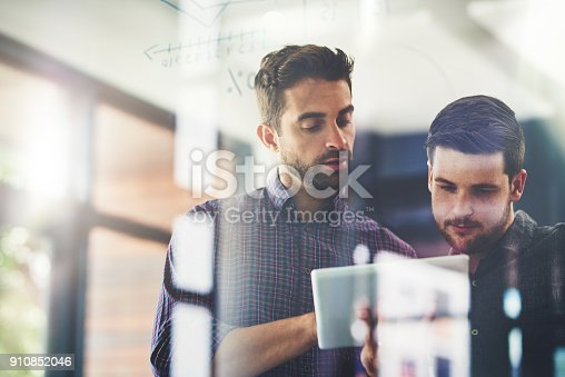 istock Working on their top ideas to expand their company 910852046