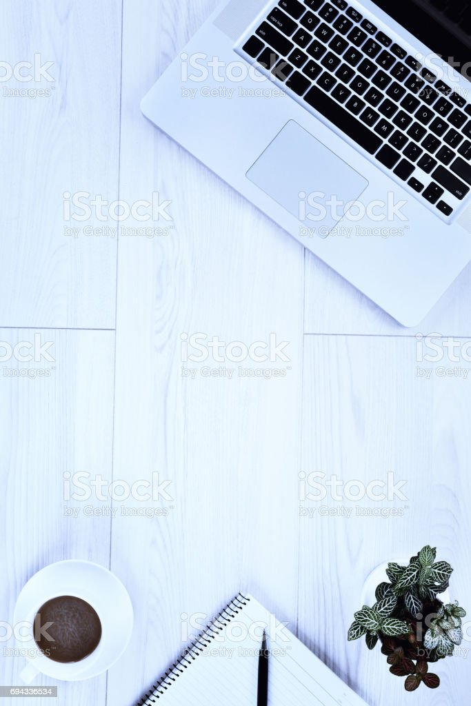 Working place stock photo