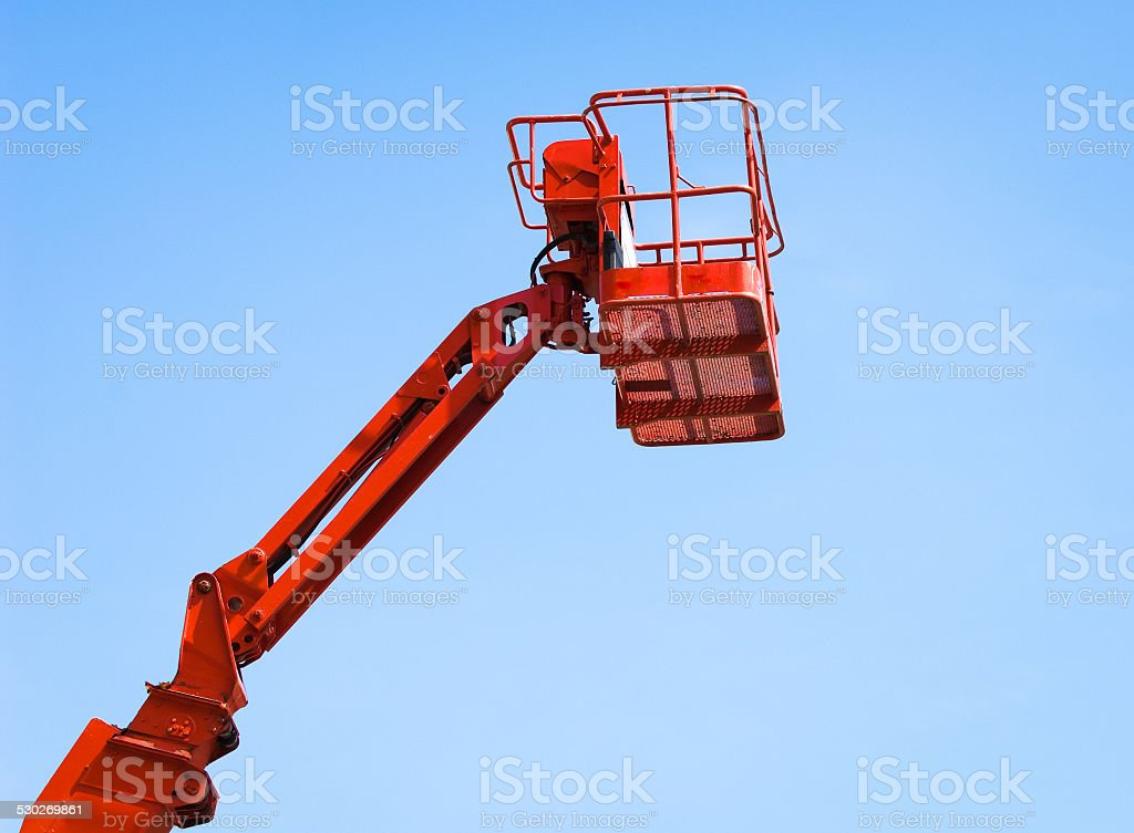 working platform stock photo