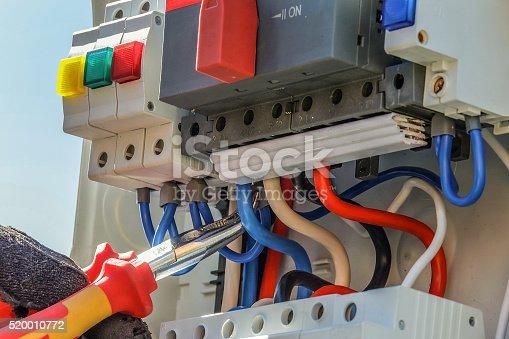 istock Working pliers 520010772