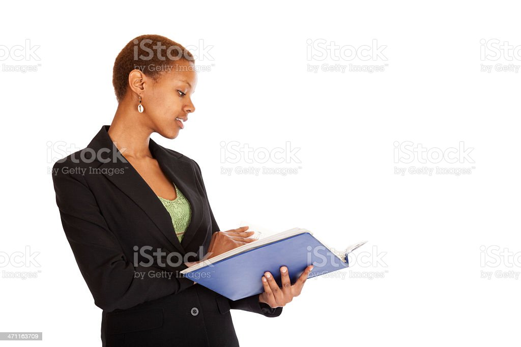 working professional royalty-free stock photo