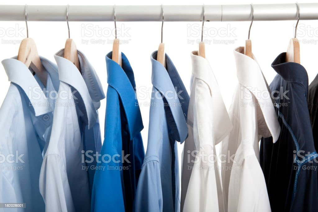 working shirts stock photo