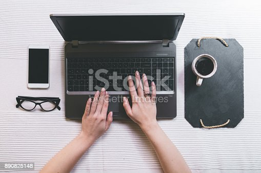 istock Working space 890825148