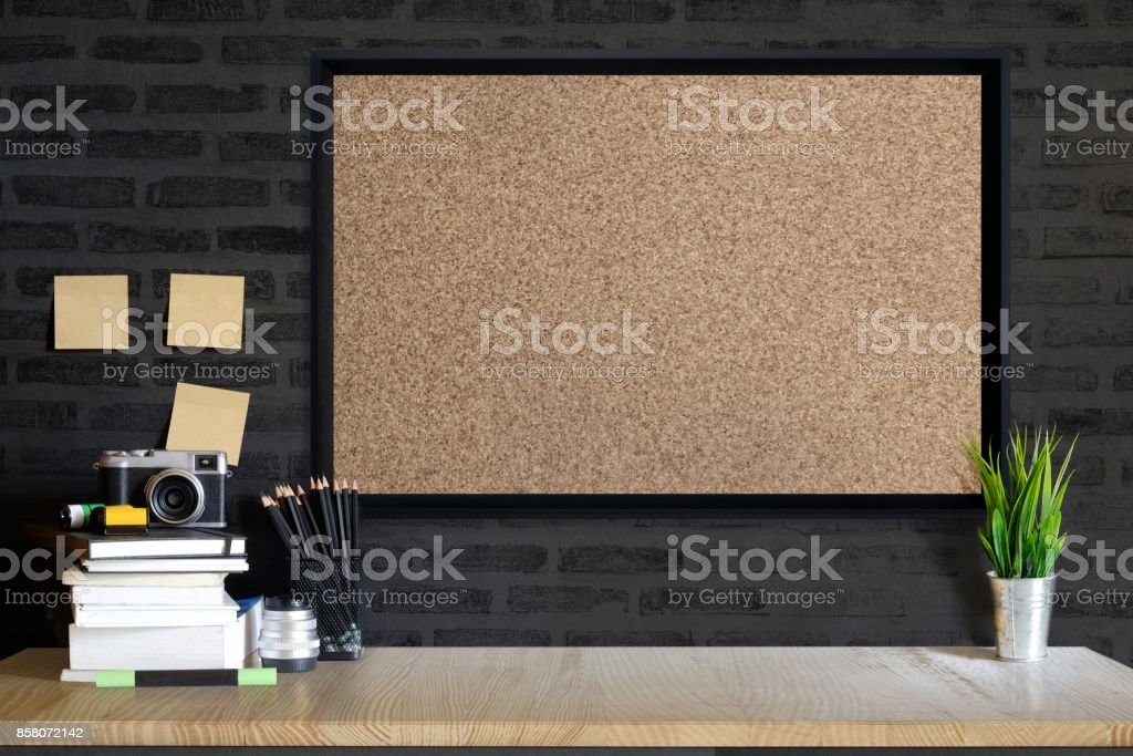 Working space,working background ,interior of woking room stock photo