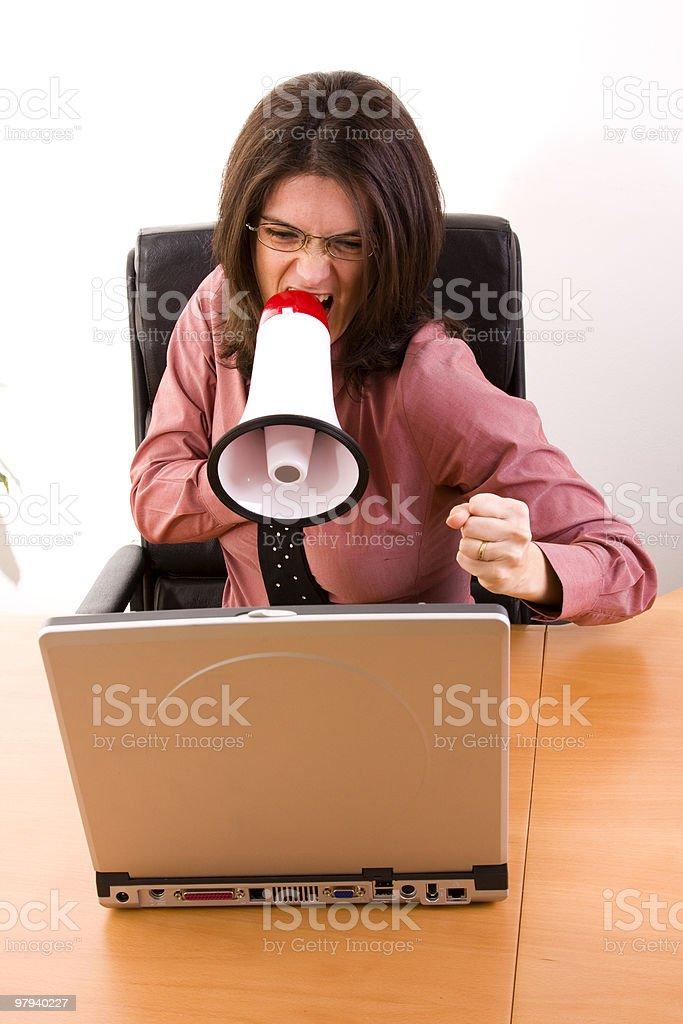 Working stress royalty-free stock photo