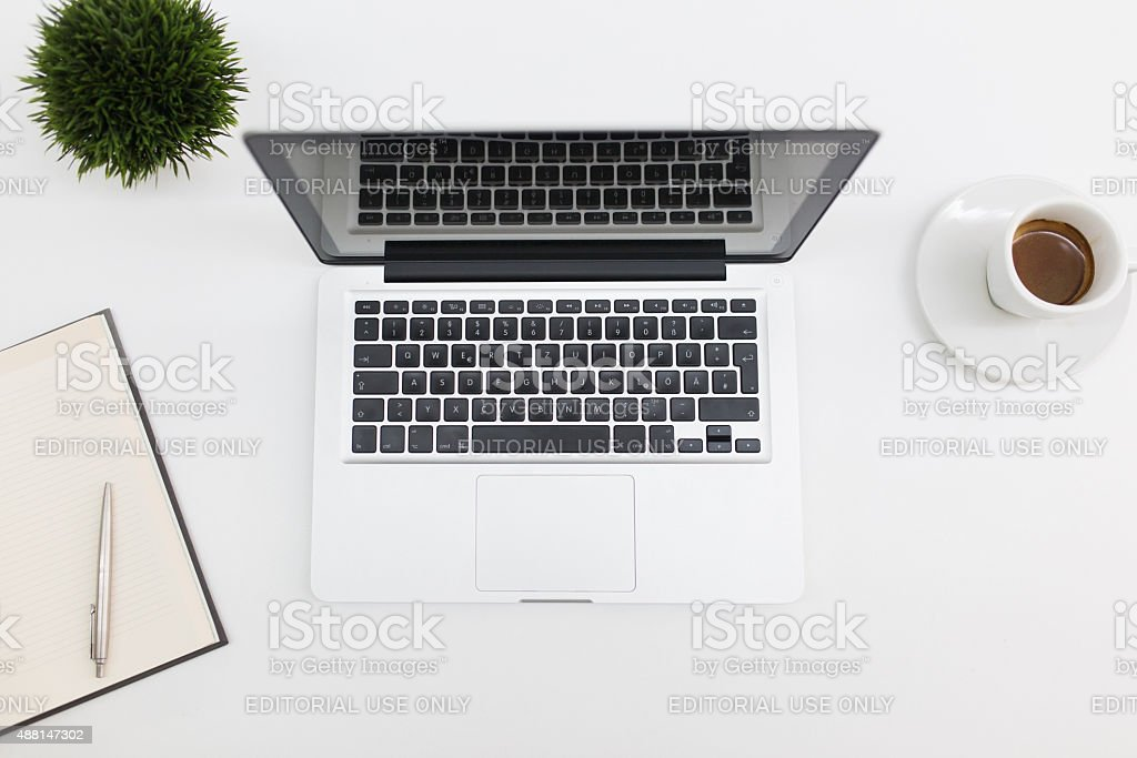 Working Table stock photo