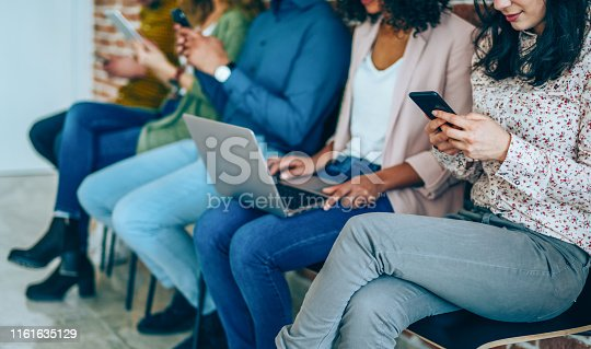 istock Working that social networking 1161635129