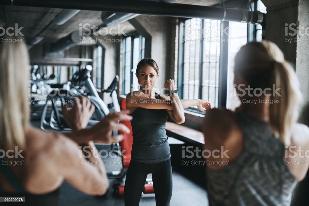 Working the arms today - Royalty-free Adult Stock Photo