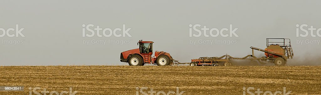 Working the Land royalty-free stock photo