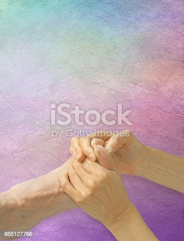 istock Working the Pituitary Gland Reflex Point 655127766