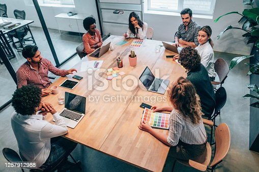 istock Working through some concepts. 1257912988