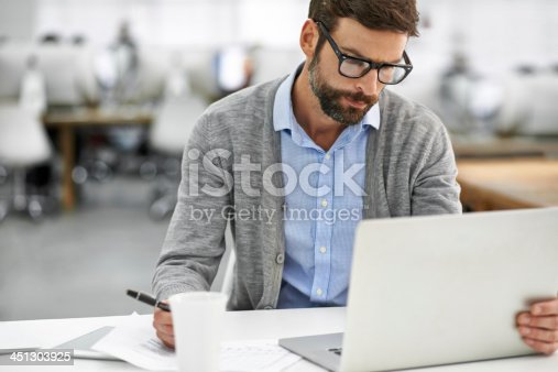 istock Working through the finer details 451303925