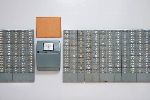 arbeitszeit kontrolle – bild - planner inserts stock-fotos und bilder