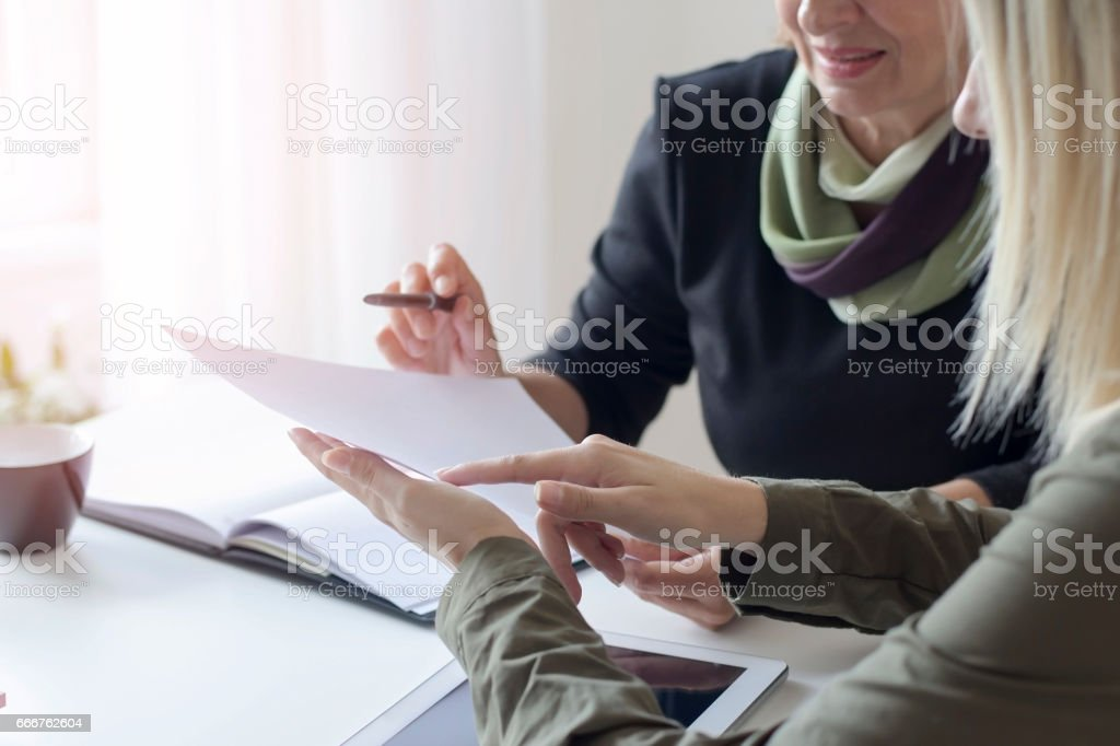 Working together foto stock royalty-free