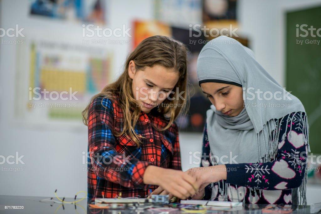 Trabalhando juntos - foto de acervo