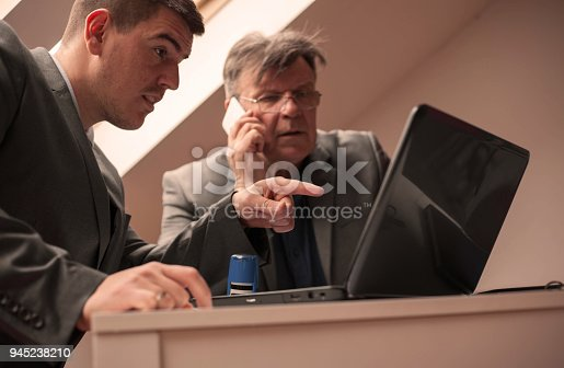 istock Working together. 945238210
