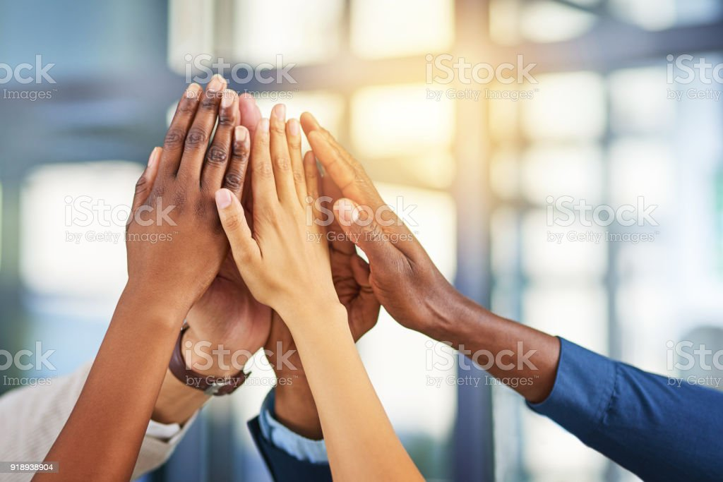 Working together, that's the secret - foto stock