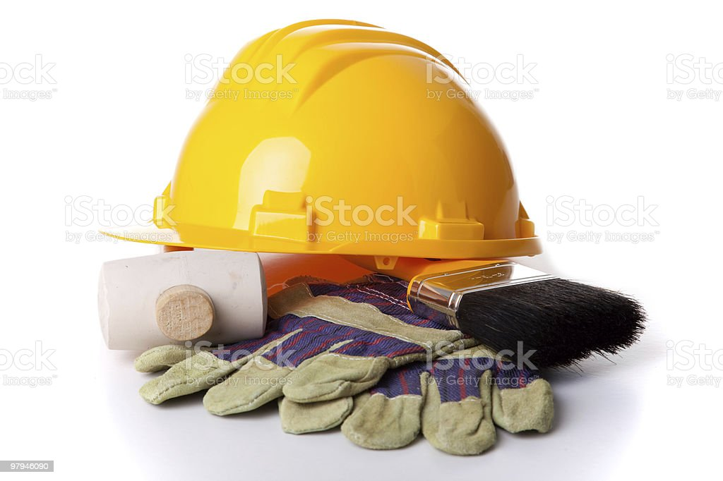 Working tools royalty-free stock photo