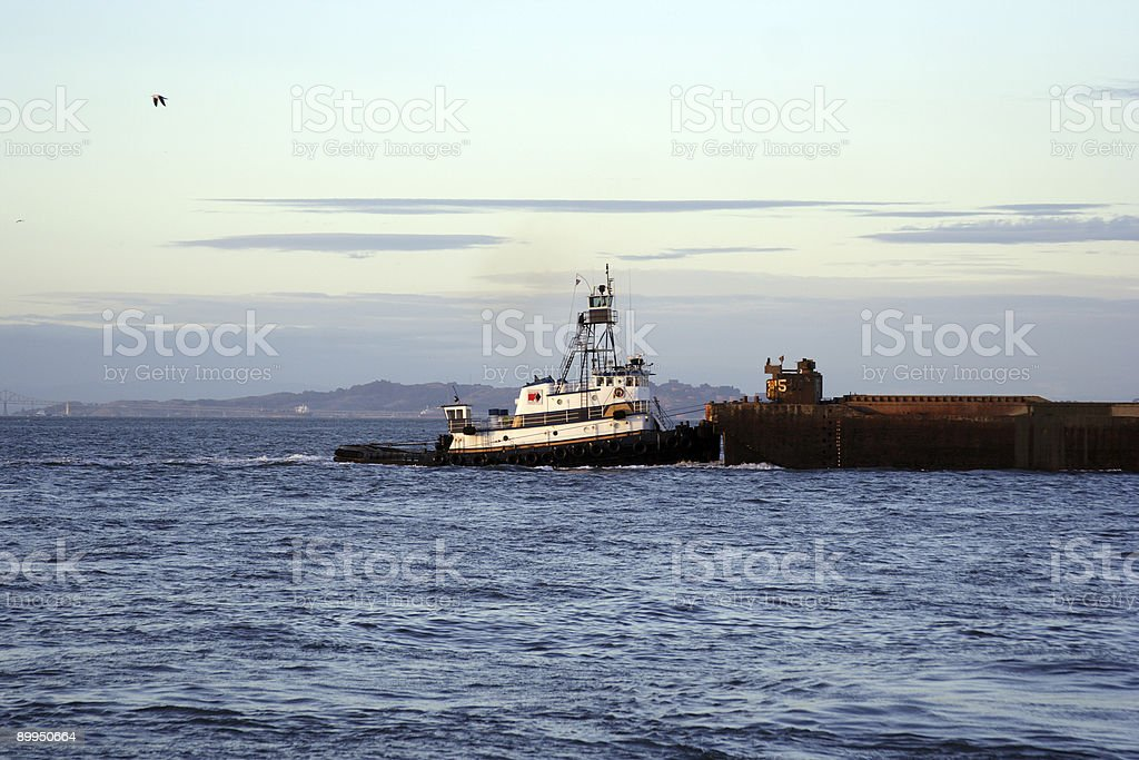 Working Tug royalty-free stock photo