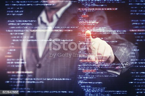 istock Working With Source Code on Modern Computer 522642552