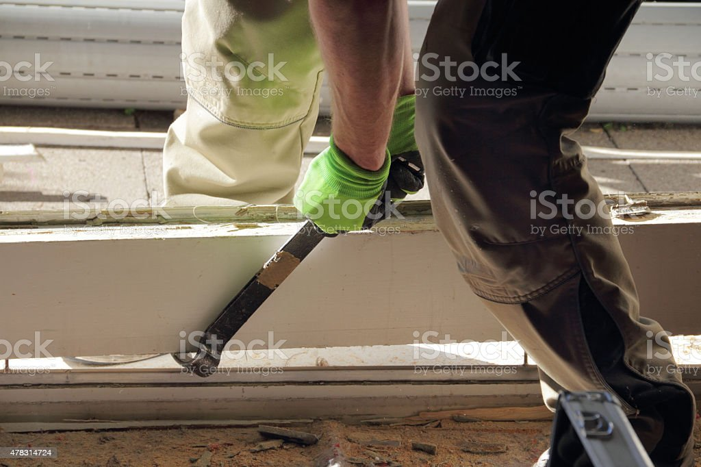 working with tool stock photo