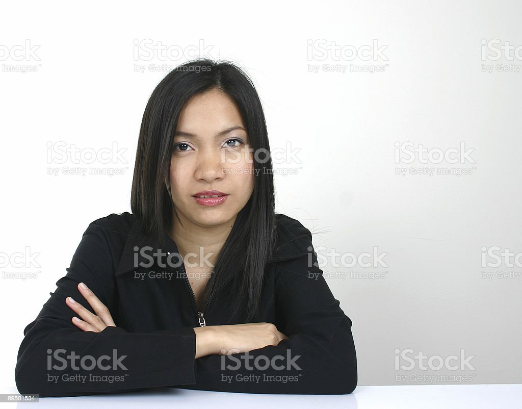 Working woman royalty-free stock photo