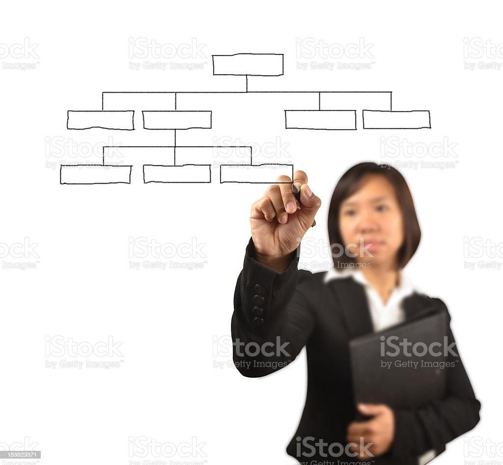 working women stock photo