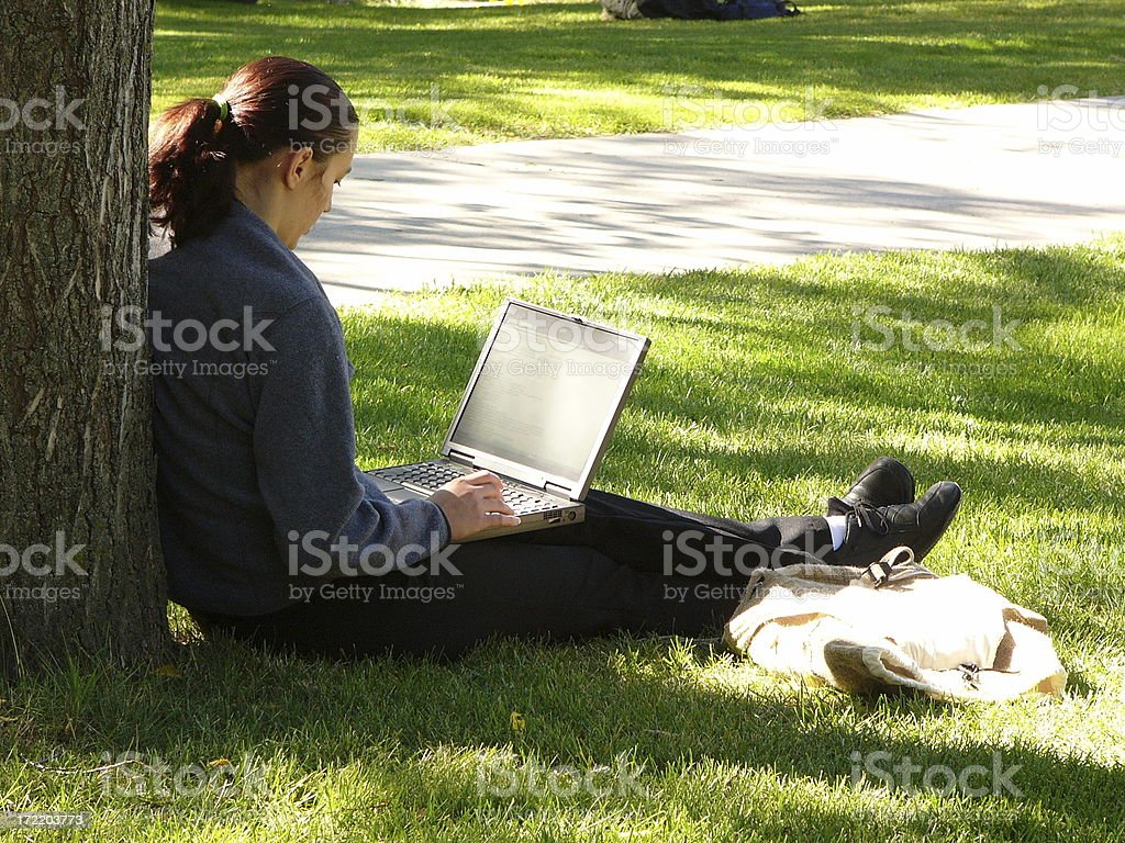 Work-life balance royalty-free stock photo