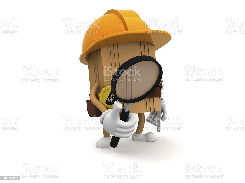Workman royalty-free stock photo
