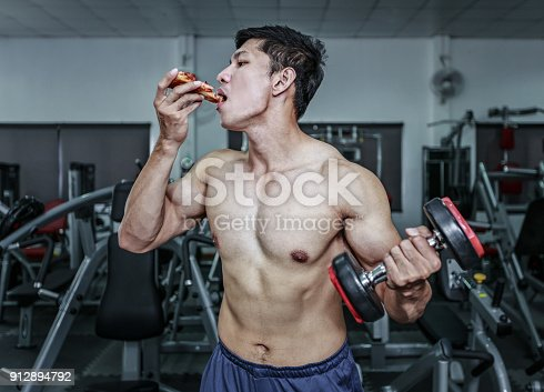 istock WorkOut And Eating 912894792