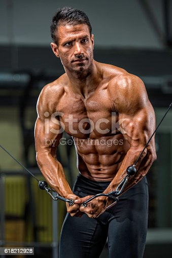 618209684istockphoto Workout at the Gym 618212928