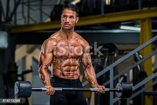 618209684istockphoto Workout at the Gym 618213248