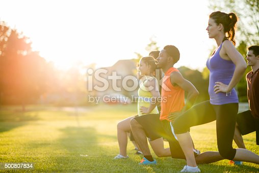 istock Workout Class 500807834
