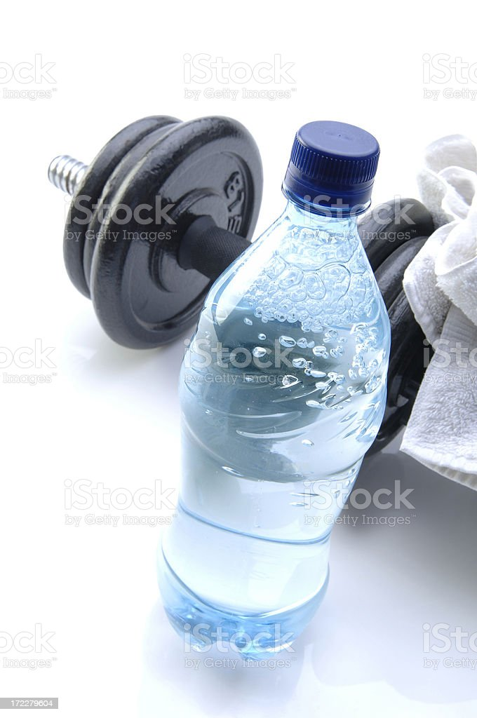 Workout Fuel royalty-free stock photo