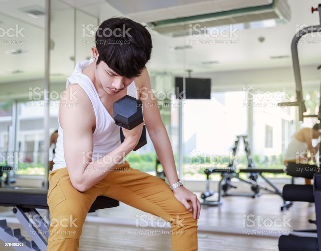 Workout In Fitness stock photo