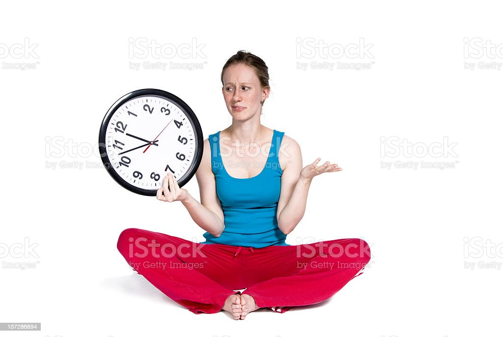 Workout Not Over Yet royalty-free stock photo