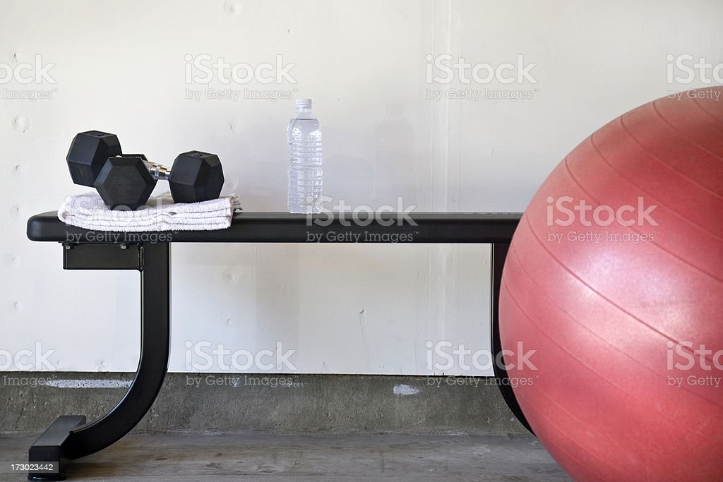 Workout royalty-free stock photo