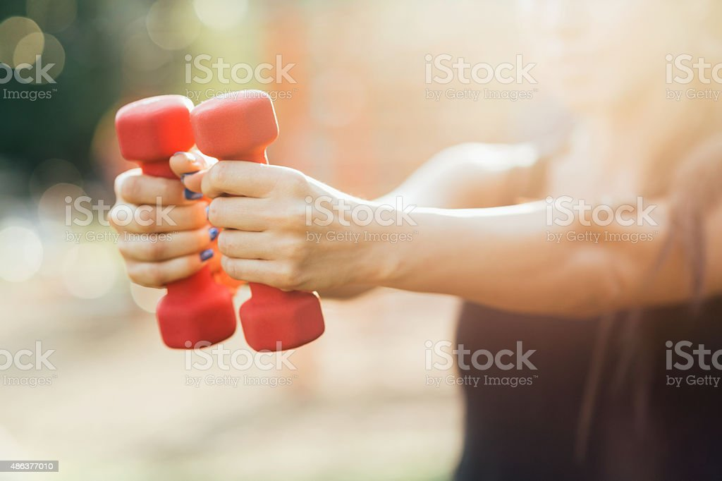 Workout stock photo