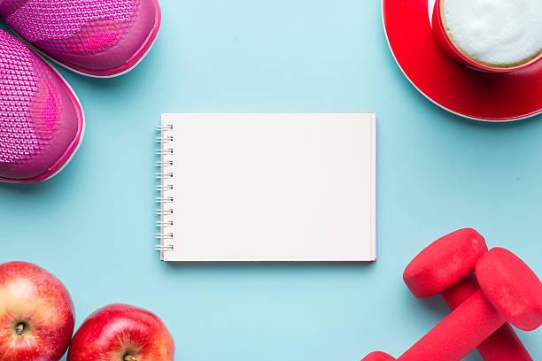workout plan - calendar workout bildbanksfoton och bilder