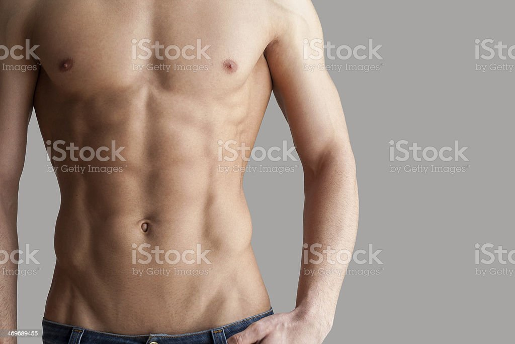 Workout results. stock photo
