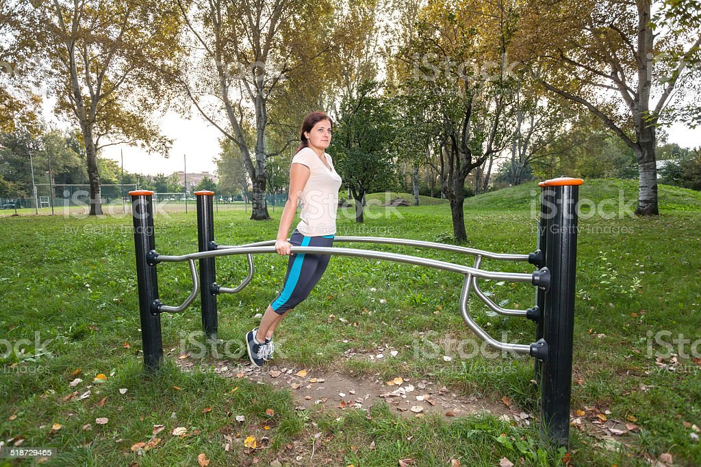 workout woman stock photo
