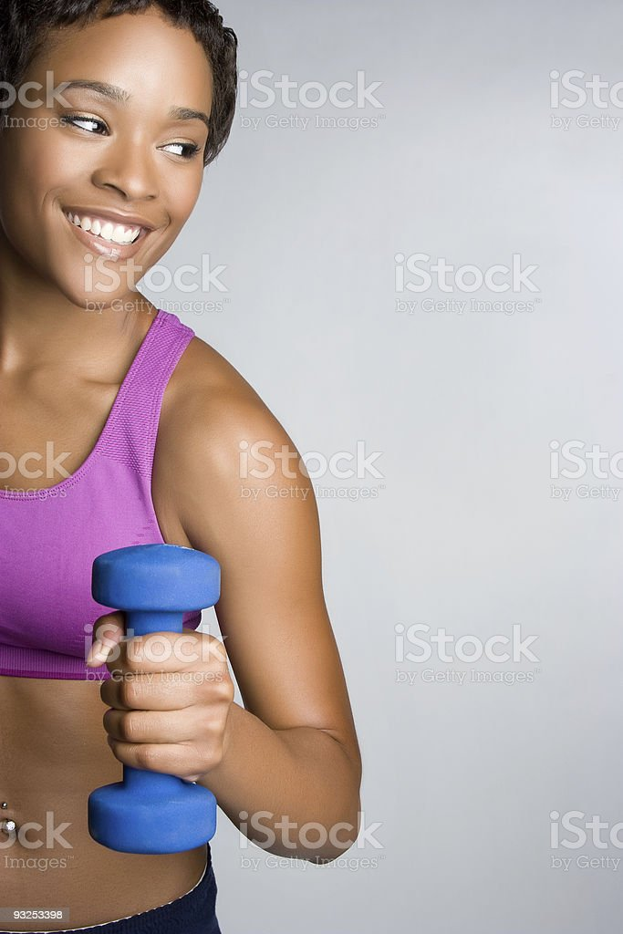 Workout Woman royalty-free stock photo