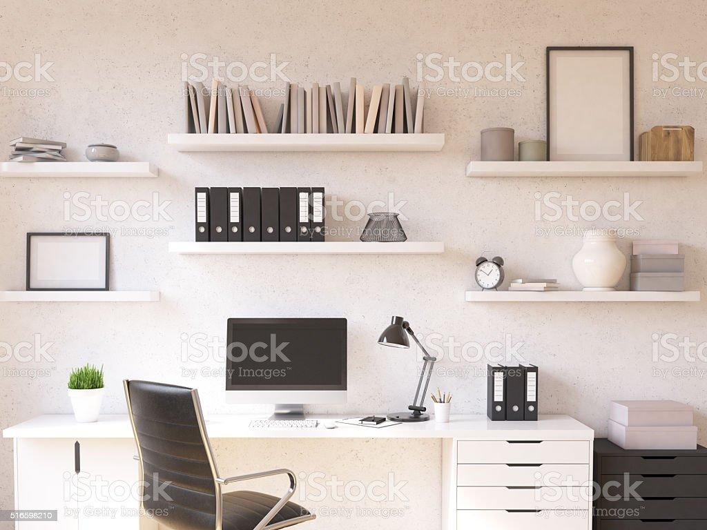 Arbeitsplatz Wie Zu Hause Fühlen Stock-Fotografie und mehr Bilder ...