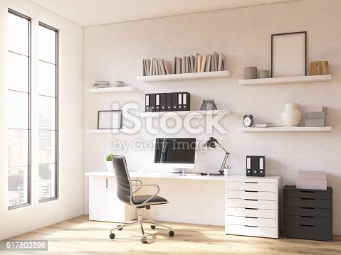 istock Workplace at home 517803896