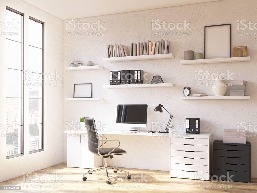 Arbeitsplatz Wie Zu Hause Fühlen. U2013 Foto