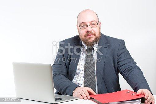 istock Workplace businessman. 479217714