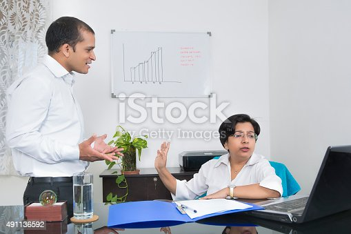 463813207 istock photo Workplace conflict 491136592