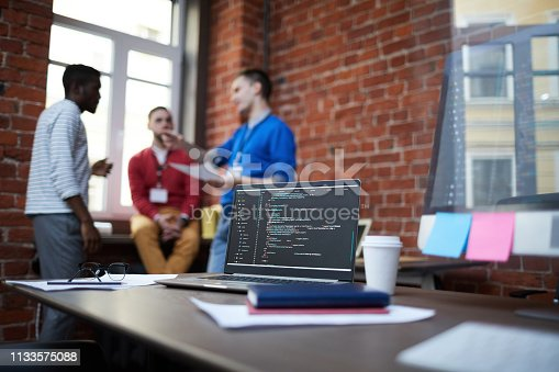 istock Workplace of it-engineer 1133575088