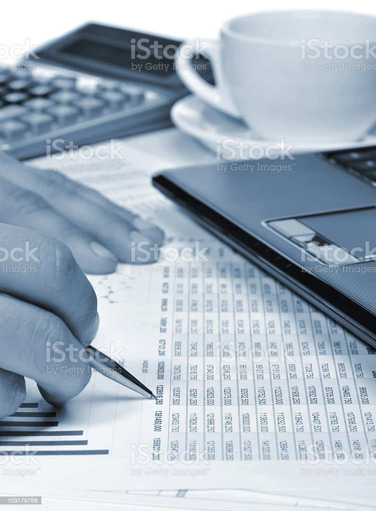 Workplace of the businessman. royalty-free stock photo