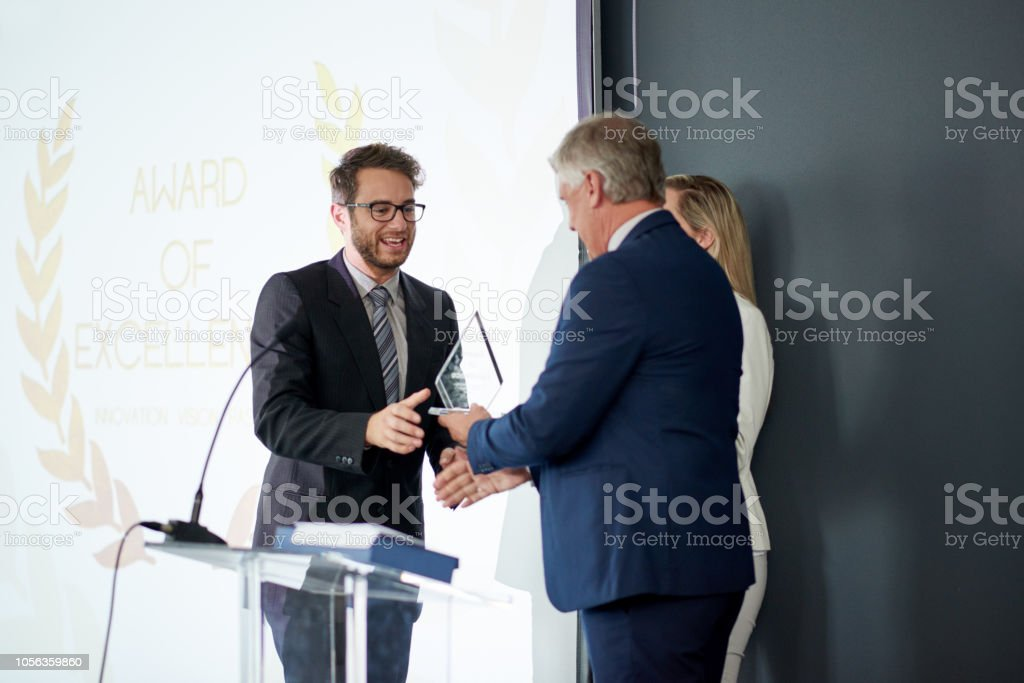 Workplace recognition makes all the difference stock photo